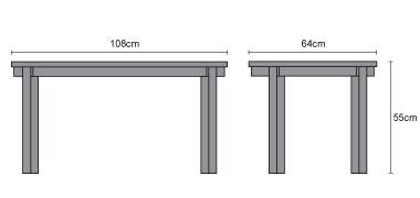 Contemporary Modern Teak Coffee Table