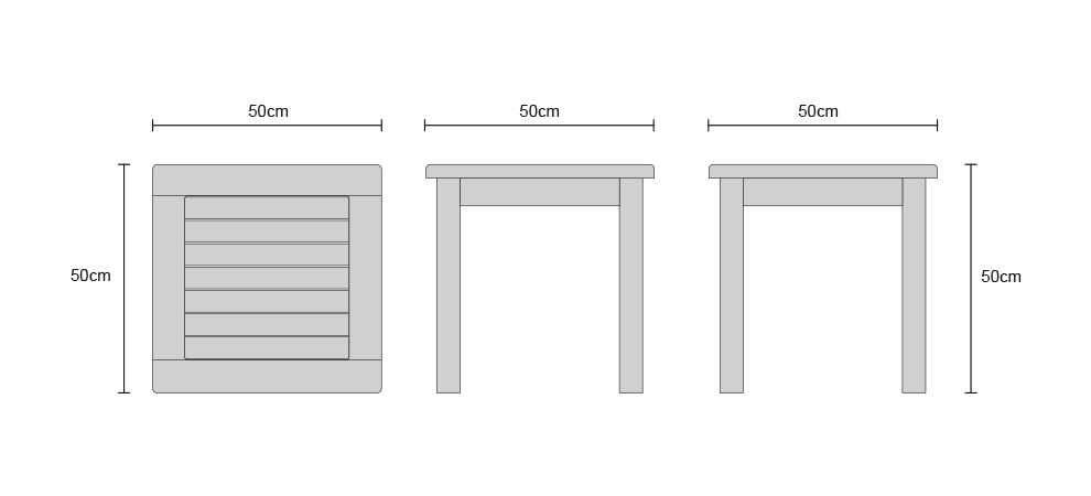 Occasional Tables - Dimensions