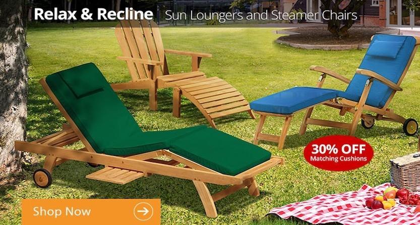Sun Loungers & Steamer Chairs