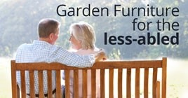 bespoke garden furniture for the elderly